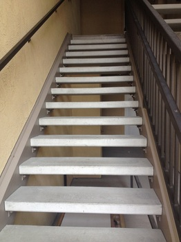 Replacement Concrete Stair Treads