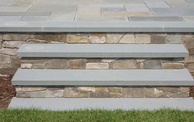 Exterior Concrete Stair Treads